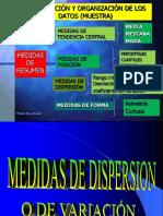 C2.3 Medidas de Dispersioón o variacion 9 oct