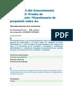Evidencia 2 (de Conocimiento) RAP4_EV02 -Prueba de Conocimiento Cuestionario de Preguntas Sobre Au