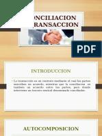 5. CONCILIACION Y TRANSACCION