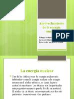 Aprovechamiento de la energía nuclear