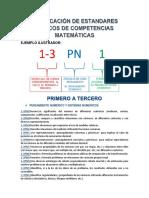 CODIFICACION DE ESTANDARES BASICOS DE COMPETENCIAS MATEMATICAS.pdf