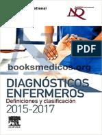 Diagnosticos Enfermeros Definiciones y Clasificacion 2015 2017