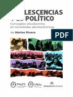Adolescencias y Lo Político (Matías Rivera)