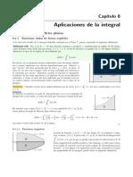 Aplicaciones de la integral