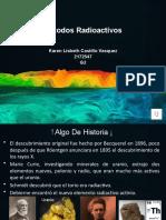Métodos Radioactivos