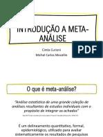 Introdução a meta-análise