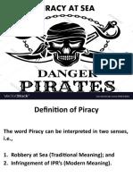 3. Piracy at Sea