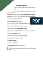 EXERCÍCIOS ESTRUTURAIS.doc