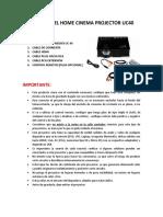 MANUAL DEL HOME CINEMA PROJECTOR UC40.docx