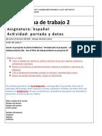 Ficha de Trabajo 2 (Espanol)