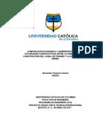 Documento Comparacion Economica y Administrativa de Las Actividades Constructivas Junio 2017