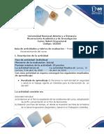 Formato Guia de actividades y Rúbrica de evaluación - Pre-tarea-Reconocimiento del curso