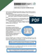 PLAN DE TUTORIA DE AULA PARA LAS II.EE. 2020