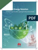 HUAWEI Telecom Energy Solutions Catalog