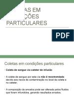 10 - Coletas em condições particulares 2020