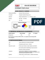 MSDS COLORANTE TEXTIL ROJO.pdf