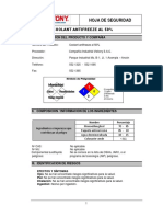 MSDS COOLANT ANTIFREEZE 50_