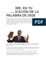 SÉ LIBRE, EN TU PREDICACIÓN DE LA PALABRA DE DIOS.docx