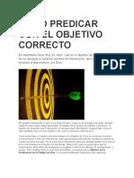 COMO PREDICAR CON EL OBJETIVO CORRECTO.docx