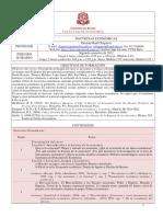 Programa Doctrinas económicas - Germán Raúl Chaparro