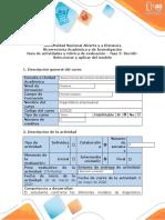 Guía de actividades y rúbrica de evaluación - Fase 3 - Decidir - Seleccionar y aplicar el modelo (18)