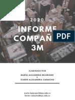 Informe Ejecutivo Compañía 3M