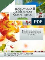 CLASE P2 08042020 Microeconomía II Los Mercados Competitivos