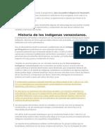 Al leer la historia de Venezuela