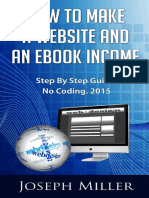How To Make A Website And An eBook Income.pdf