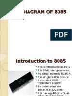 5Pin Diagram of 8085