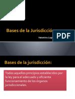 Bases de la jurisdiccion
