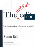 The Artful Edit -On the Practice of Editing Yourself (2007) - Susan Bell.epub