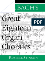 J. S. Bach's great eighteen organ chorales_Russell Stinson