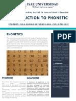 PHONETIC YSSL