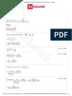 ∂_(∂x)_sqrt[5]{(x^3-2)_(x^3+2)} - Calculadora de derivadas parciales - Symbolab