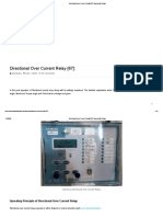 Directional Over Current Relay [67]_ Numerical Relays
