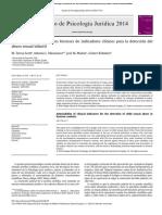 TESIS proyectivas en psicologia forense