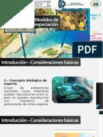 Modelos de especiación - Equipo 2