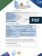 Guía de actividades y rubrica de evaluacion - Fase 6 - Evaluación y Operación de la Red Telemática - copia