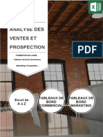 Analyse des ventes et prospection brochure