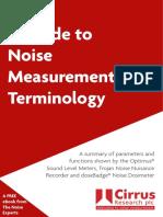 noise-measurement-terminology-guide