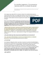 infobae.com-Para un prestigioso científico argentino el coronavirus no merece que el planeta esté en un estado de.pdf