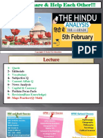 5 February- 2018-The Hindu Full News Paper Analysis By VeeR