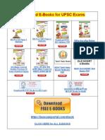 Free eBooks for UPSC IAS Exams