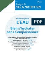 DossierSanteNutrition L Eau Bien s Hydrater Sans s Empoisonner SD Ry