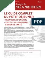 DossierSanteNutrition  Le Guide Complet Du Petit Dejeuner SD Vl
