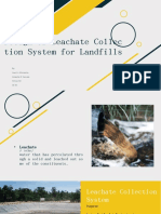 Design of Leachate Collection System for Landfills