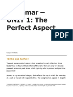a. Unit 1 Grammar_Perfect Aspect_Theory