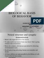 biological basis of behavior