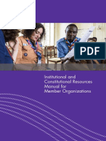 WOSM_Institutional and Constitutional Resources Manual for Member Organizations